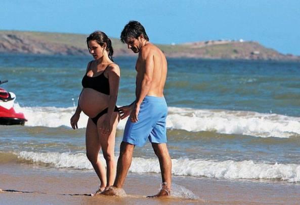 Con Nacy embarazada, pensando la revolución en Punta del Este