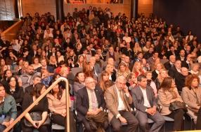 Así estaba el auditorio del CPACF