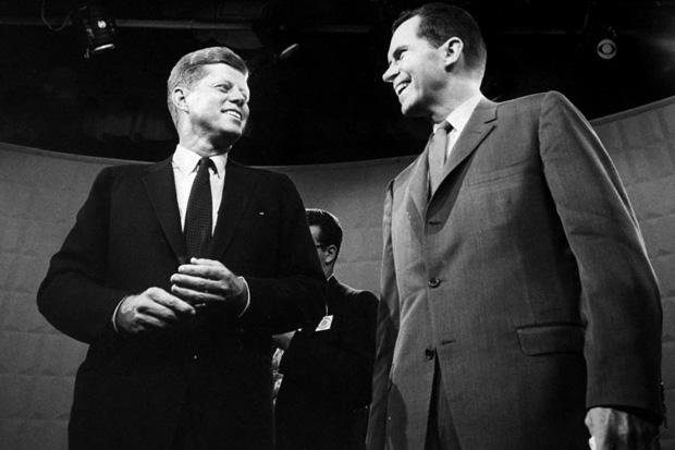 El histórico debate entre Kennedy y Nixon