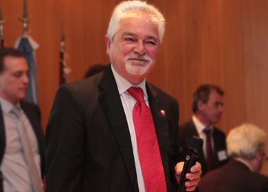 López, el día que ganó las elecciones para Presidente del CPACF
