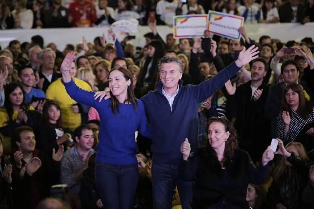 Macri, Vidal y la esperanza a flor de piel