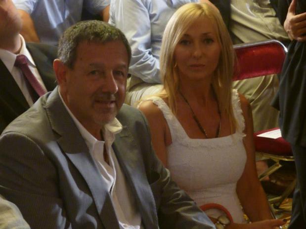 Mónica López y su marido el sindicalista Alberto Roberti, ya negocian con Scioli