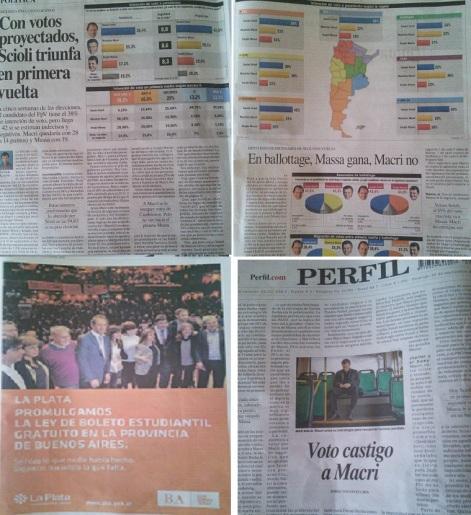 Perfil hoy. Páginas 2, 3, 9 y contratapa. Prensa independiente