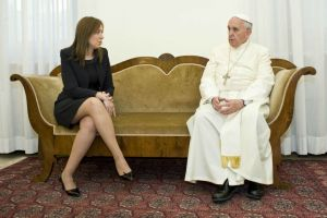 Francisco la recibió a Vidal