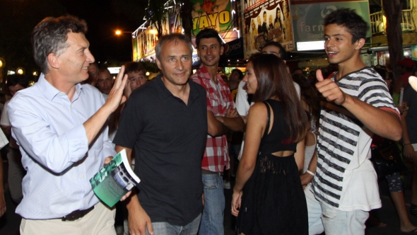 Macri lidera en Córdoba