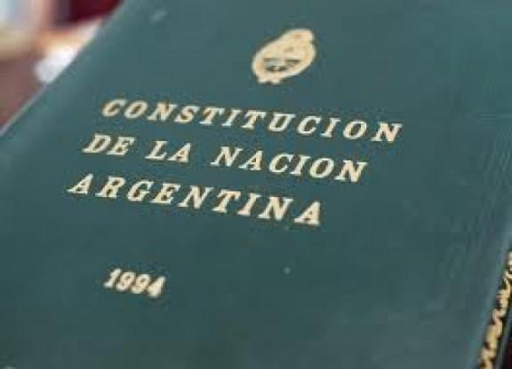 Surge de la Constitución Nacional