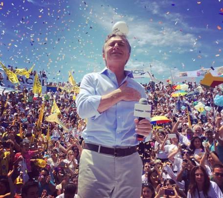 Mauricio Macri y todo un pueblo